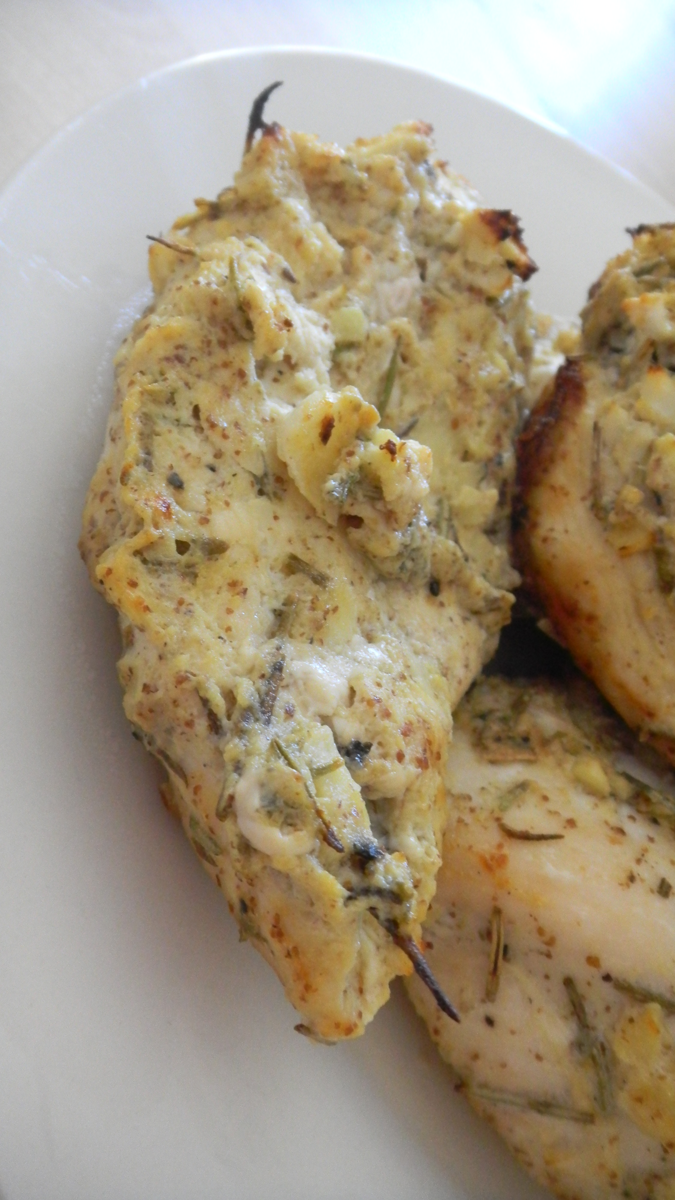 Baked rosemary garlic and ginger chicken breasts | The Clean Palate