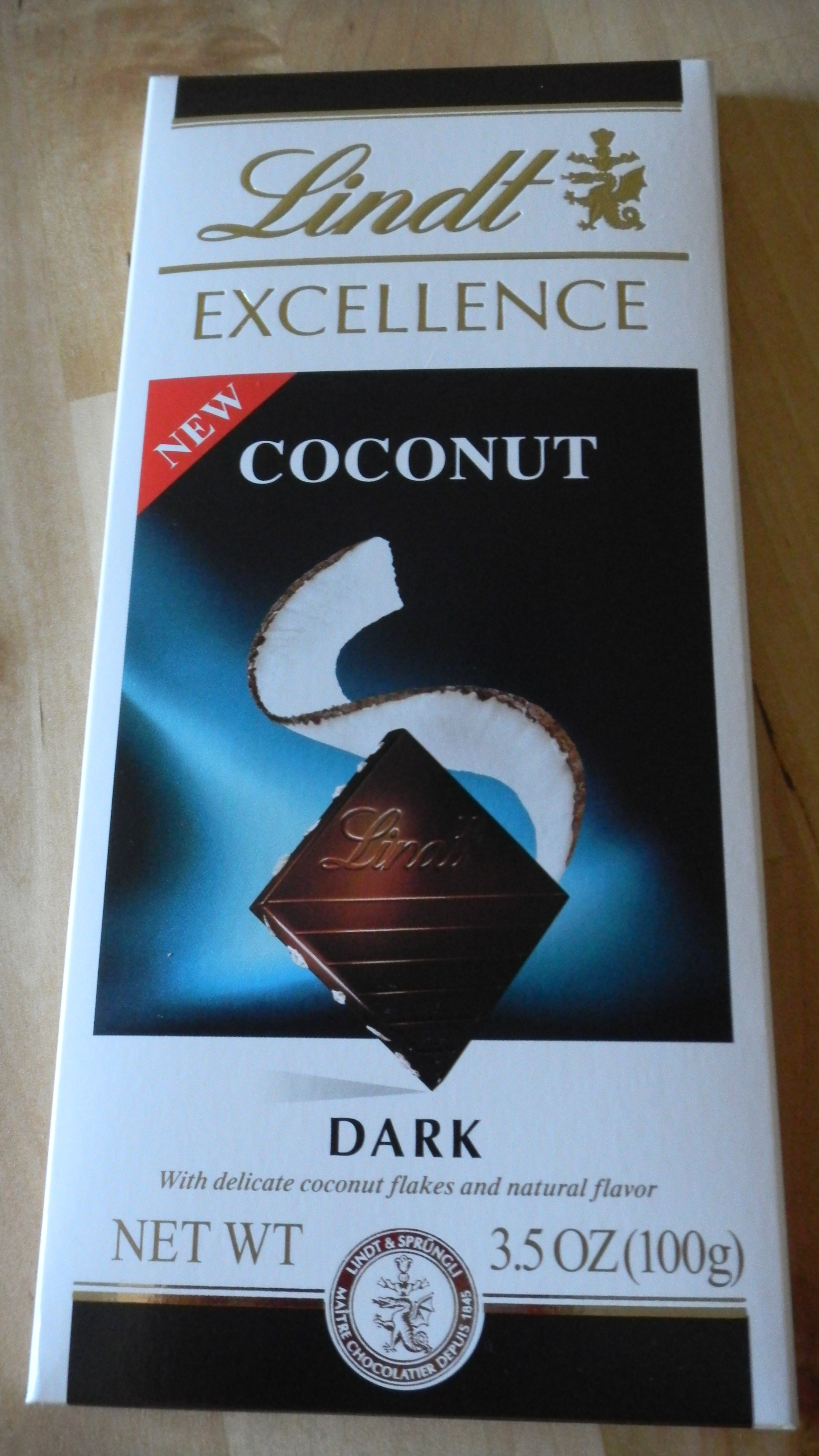 Lindt: Dark chocolate with coconut | The Clean Palate