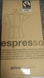 Chocolate espresso bar